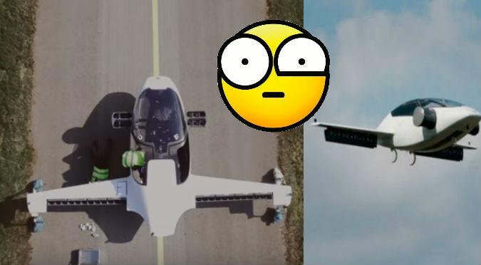 YouTube: Crearon el 'taxi volador' y este fue el resultado