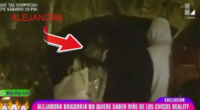 ¡Lo identificaron! Este es el misterioso galán que enamoró a Alejandra Baigorria (VIDEO)