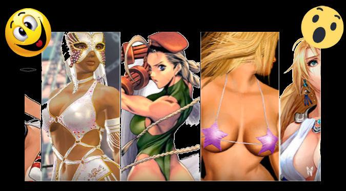 YouTube: Conoce a las chicas más sexys de los videojuegos