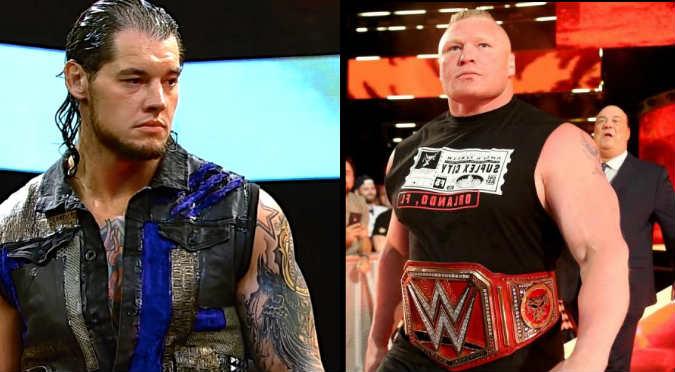 WWE: ¡Lucha de gigantes! Baron Corbin se enfrentará a Brock Lesnar por el título Universal