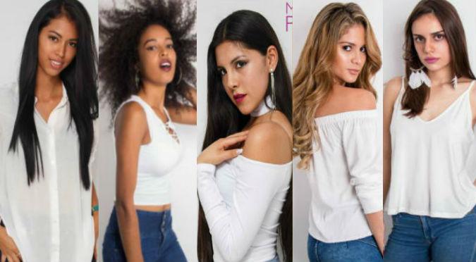 ¡La gran ausente!  Esta es la lista de precandidatas a Miss Perú y ¿Brunella? (FOTOS)