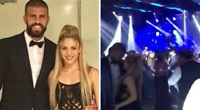 ¡Qué bacán! Shakira y Gerard Piqué se robaron las miradas con sensual baile (VIDEO)