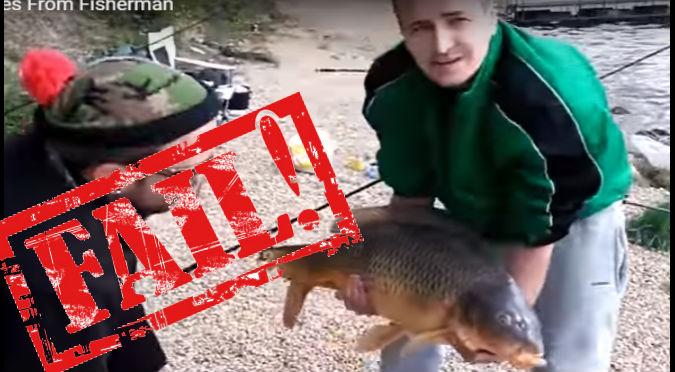 YouTube:  Presumía su caza y terminó pasando tremendo roche