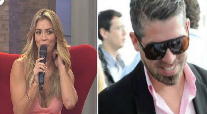 Así fue la romántica declaración de Pedro Moral a Sheyla Rojas (VIDEO)