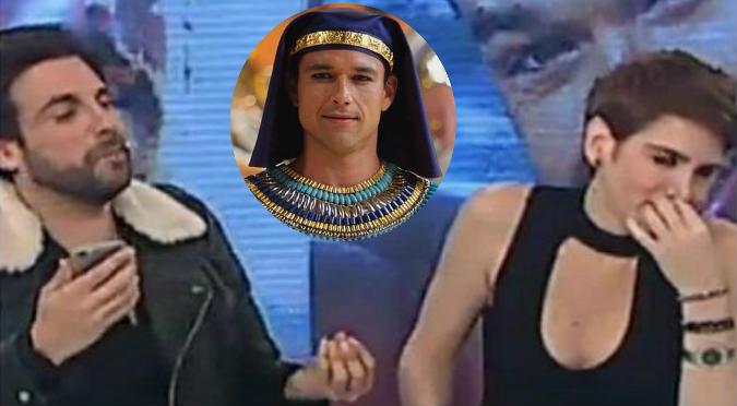 'Peluchín' echa a Gigi Mitre y muestra los mensajes que ella se manda con 'Ramsés'