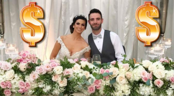 Esta fue la millonaria cifra que gastó Sully Sáenz en su boda