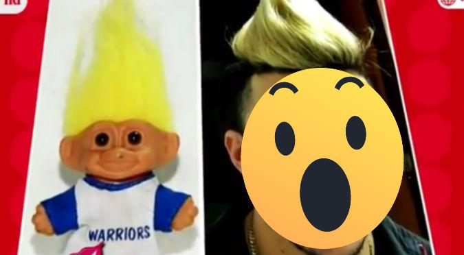 Guerrero fue comparado con un troll y ahora sorprende con radical cambio de look