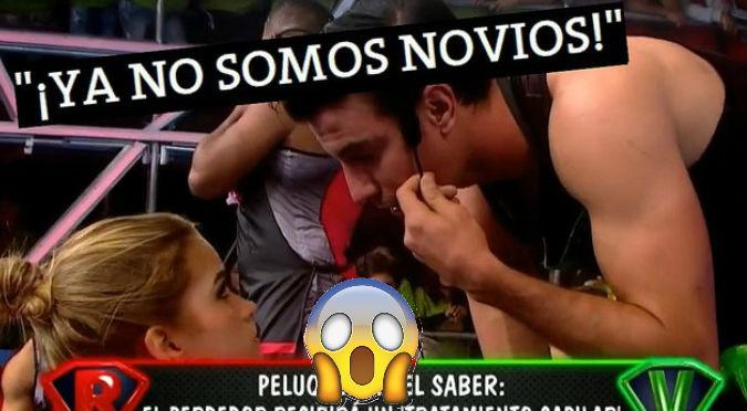 Micheila Elías negó de la peor manera a Duilio ¡Y en pleno programa!