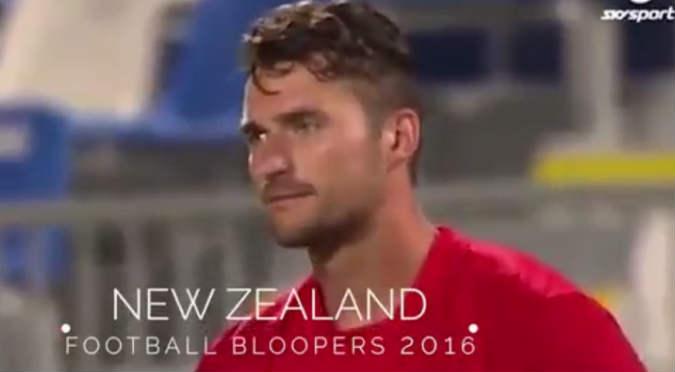 Mira los mejores ´bloopers´ de la liga de Nueva Zelanda (VIDEO)
