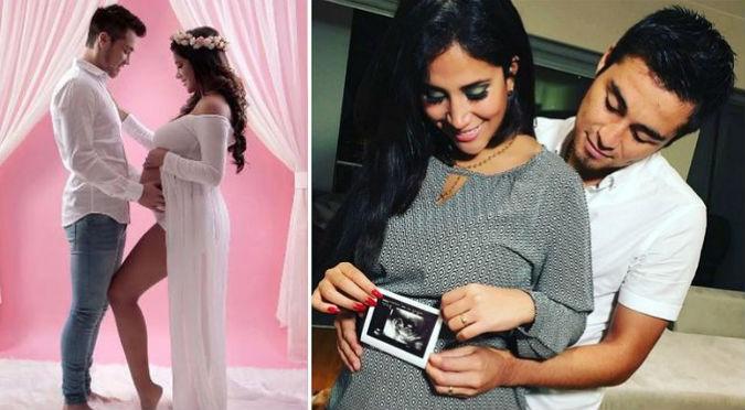 Melissa Paredes y Rodrigo Cuba presentaron a su hermosa hija (FOTOS)