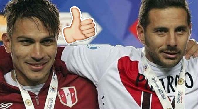 Paolo Guerrero recibió polémico mensaje de Claudio Pizarro