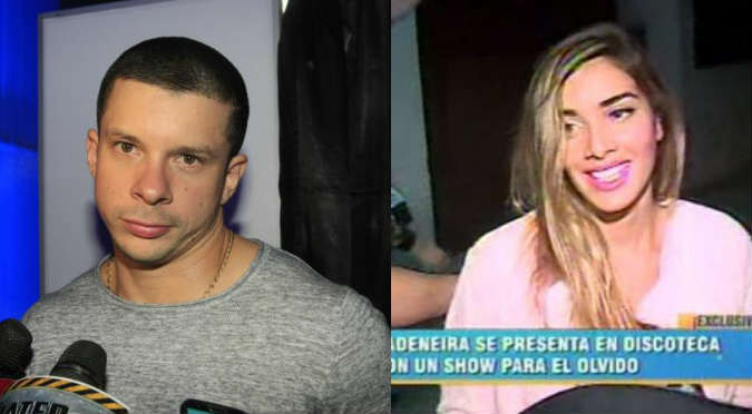 Korina Rivadeneira muestra ropa interior en discoteca (VIDEO)