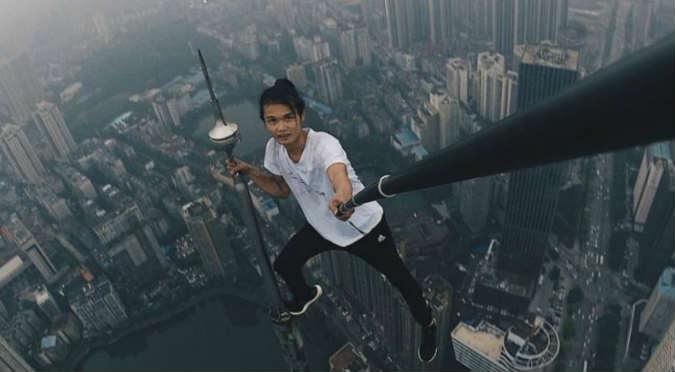 Famoso escalador de rascacielos grabó su propia muerte