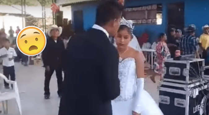 La boda más triste de México se vuelve viral (VIDEO)