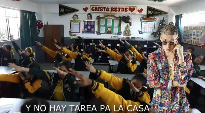 Colegio atrae alumnos con reggaetón y se vuelve viral (VIDEO)