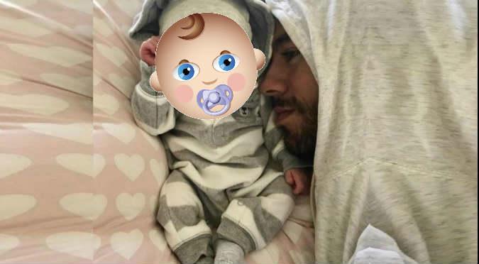 ¡Pura ternura! Enrique Iglesias y la primera foto con sus mellizos