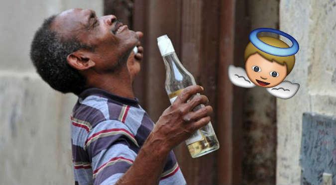 Oración del borracho se hizo viral en redes sociales (VIDEO)