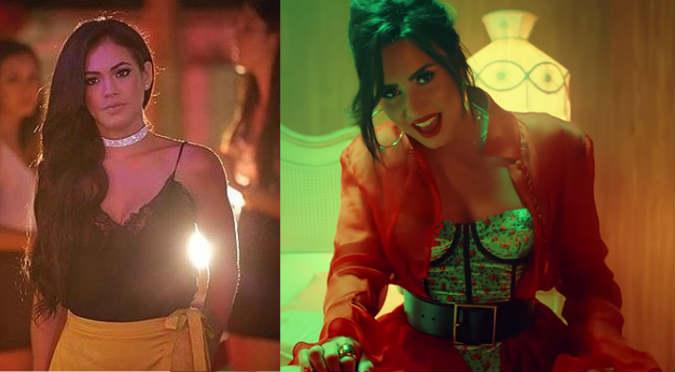 ¡WTF! ¿Jazmín Pinedo debuta cantando como Demi Lovato?