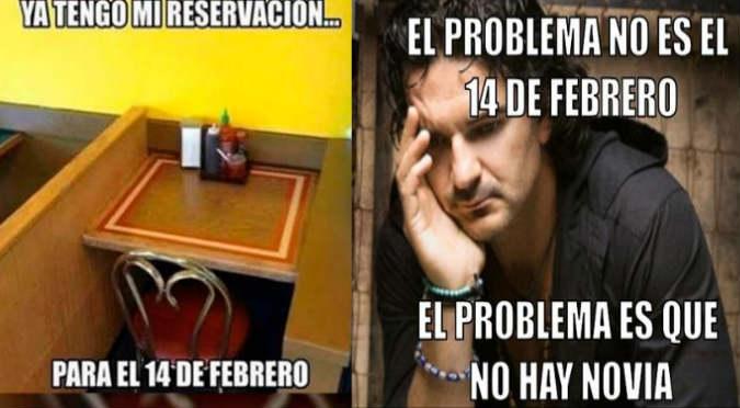 San Valentín: Memes se burlan de solteros en redes sociales