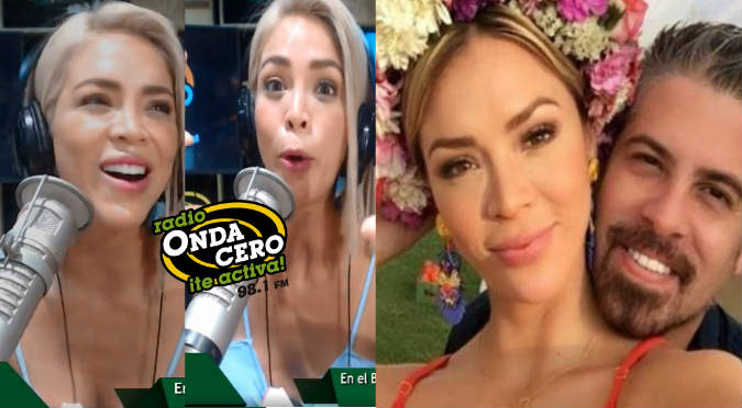Sheyla Rojas contó su historia de amor con Pedro Moral en Onda Cero