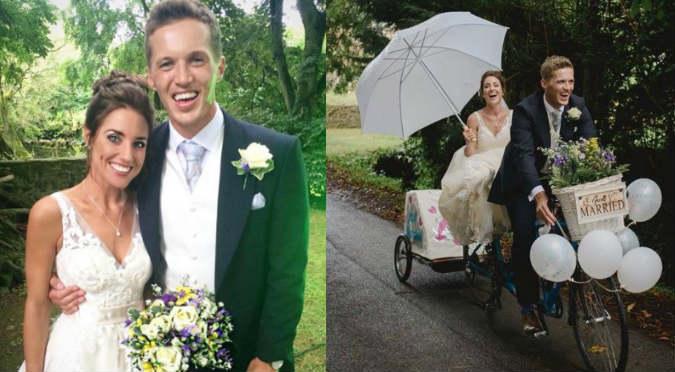 Hombre quedó viudo y su actual pareja es idéntica a su difunta esposa (VIDEO)