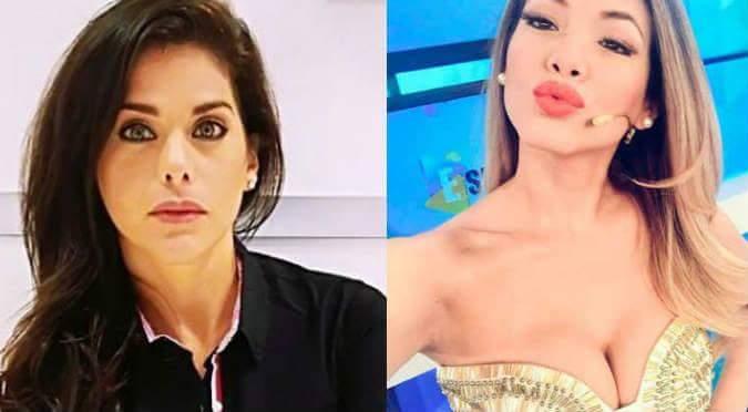¿Jazmín Pinedo se dio un beso en la boca con Giovanna Valcárcel? (VIDEO)