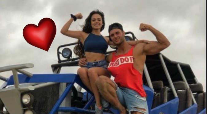 Mayra Goñi grita su amor por Fabio Agostini en redes sociales
