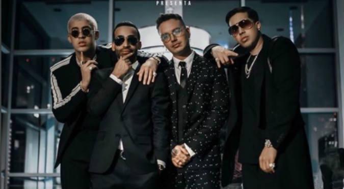Arcángel, Bad Bunny, J Balvin y De La Ghetto juntos en 'Dime'