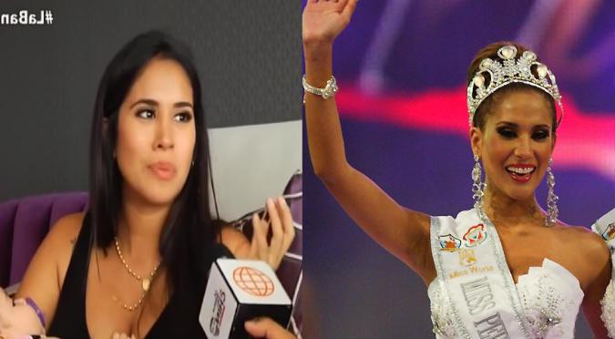 Melissa Paredes reveló todo lo malo que vivió en el Miss Perú