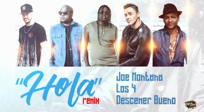Los 4, Joey Montana y Descemer Bueno estrenan nueva canción en Onda Cero