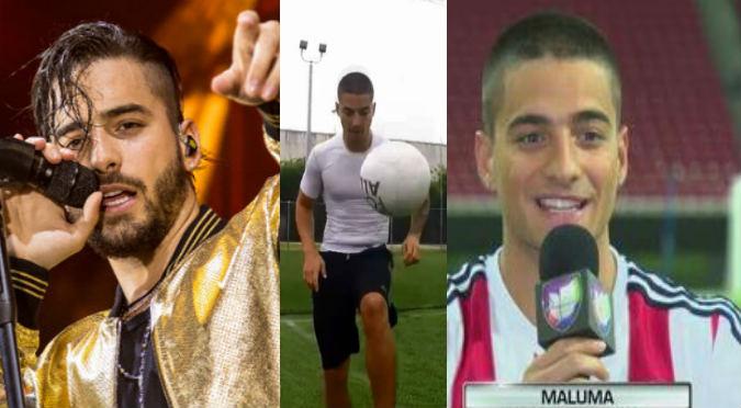 Maluma recuerda su pasado como futbolista ¿Pide jugar en el Mundial?