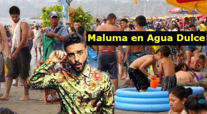 Recuerda a Maluma cuando veraneaba en Agua Dulce (VIDEO)