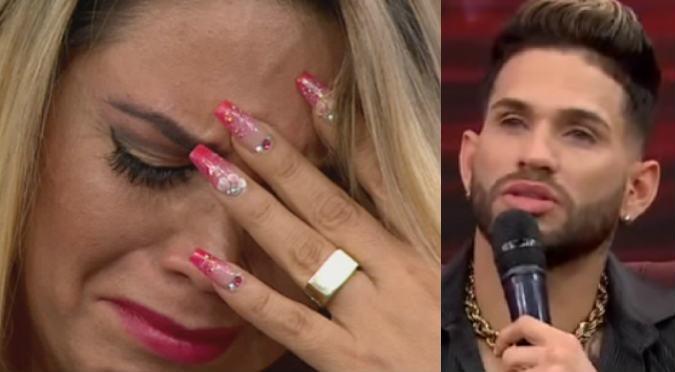 Anelhí Arias: Su novio le termina en vivo por mencionar a Dayron (VIDEO)
