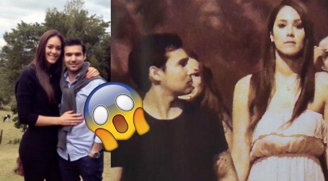Karen Schwarz: Ezio Oliva le hizo escena de celos y ella reaccionó así (VIDEO)