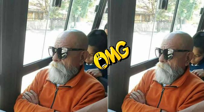 WhatsApp: Le envía foto del 'Maestro Roshi' a su amigo y reacciona así (FOTO)