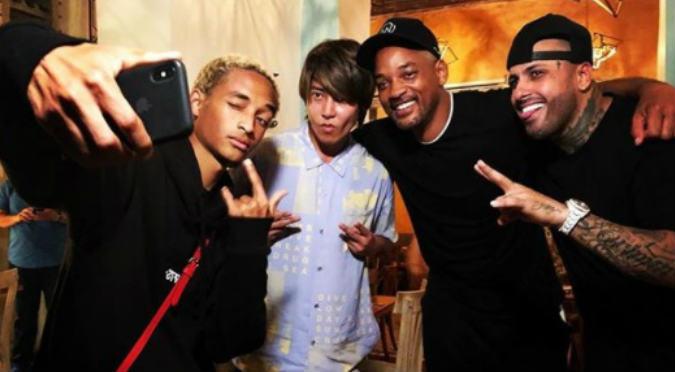 Will Smith y su hijo destronan a J Balvin en baile con Nicky Jam (VIDEO)
