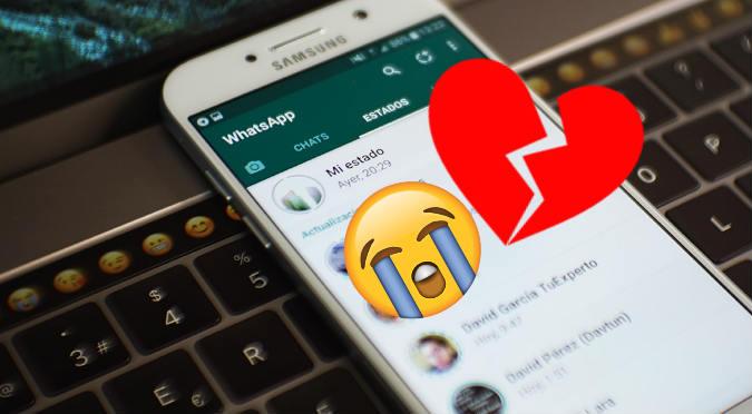 WhatsApp: Gracias a chats descubrió cuando se terminó el amor con su exnovia