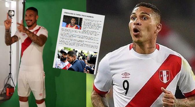 Paolo Guerrero: FIFPro en contra de sanción y pide reunión de urgencia con la FIFA