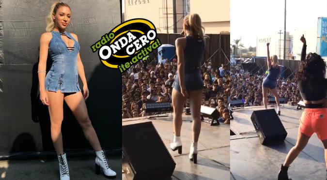 Onda Cero En Vivo 5: Alejandra Alfaro demostró todo su talento en tarima