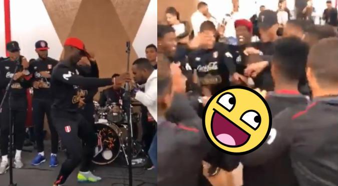 Selección Peruana disfruta bailando rico en la Videna (VIDEO)