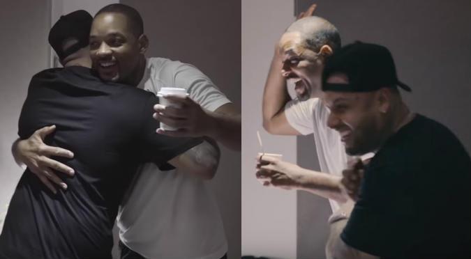Will Smith y Nicky Jam: Este es el detrás de cámaras de la canción para el Mundial Rusia 2018