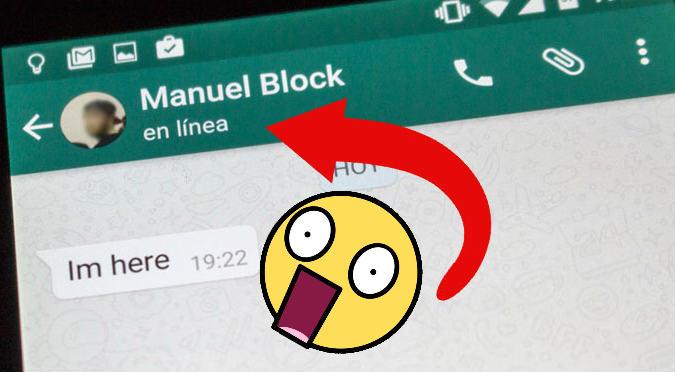 WhatsApp: Truco para no aparecer 'En línea'
