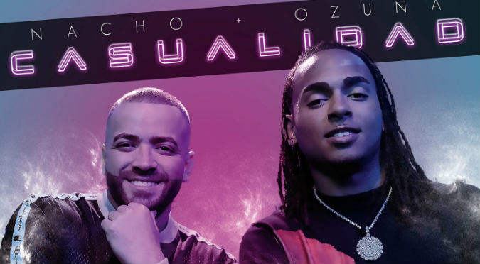 Nacho y Ozuna en tremendo junte con 'Casualidad' (VIDEO)