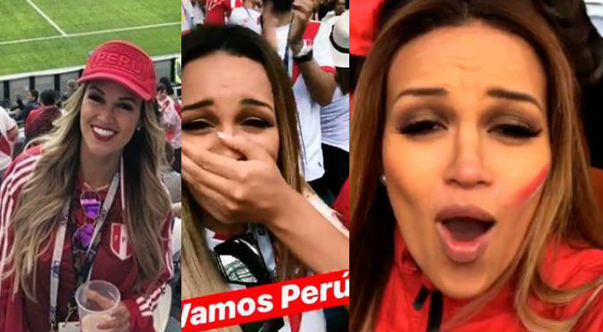 Facebook: Angie Arizaga es troleada tras triunfo de Perú ante Australia