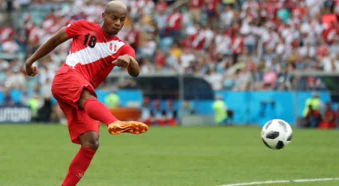 André Carrillo y el primer golazo de Perú en un Mundial después de 36 años
