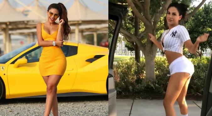 Stephanie Valenzuela hace twerking en pleno tráfico y la critican por este motivo (VIDEO)