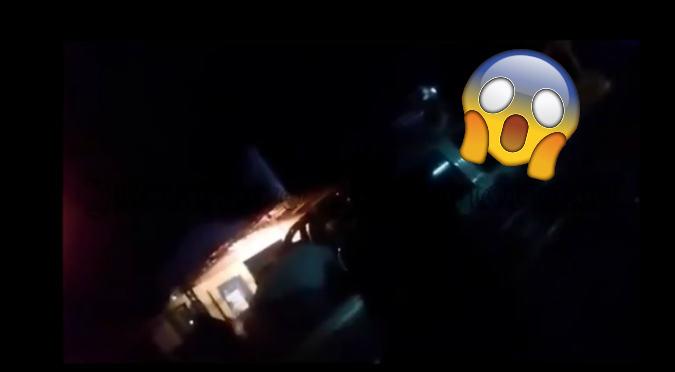 Aterradora escena de mujer poseída se vuelve viral (VIDEO)