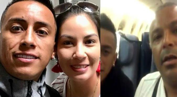 Christian Cueva: Esposa lo defiende de sujeto que lo insultó (VIDEO)