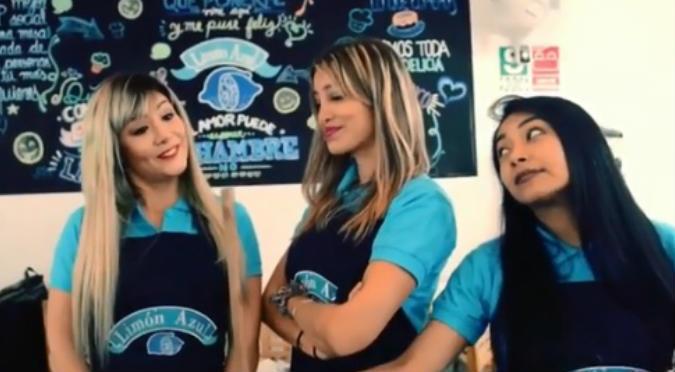 Gianina Portugal protagoniza divertida escena junto a Claudia Serpa (VIDEO)