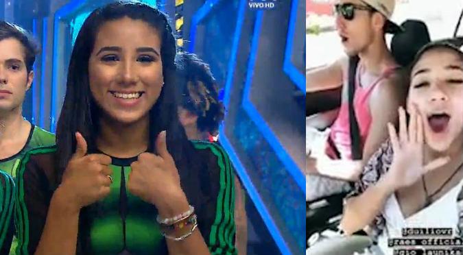Samahara Lobatón revela qué relación tiene con Duilio Vallebuona